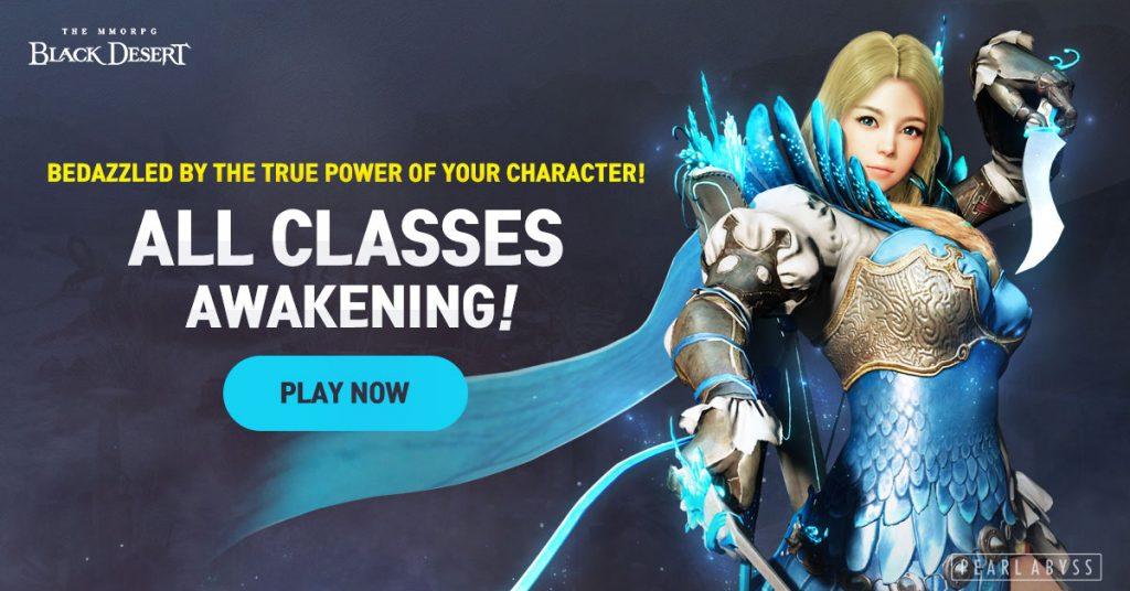 Black Desert Online, Original six classes power up