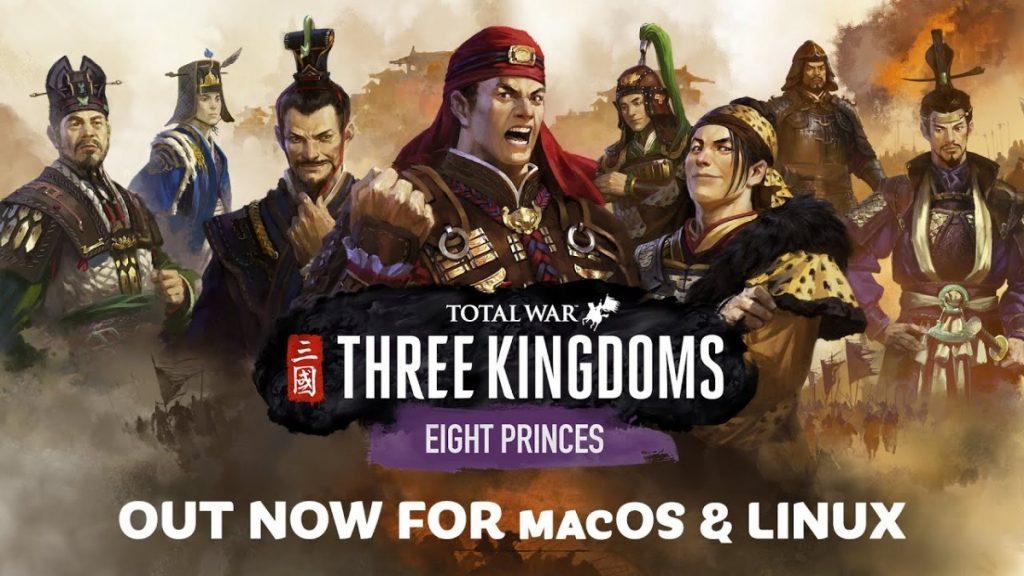 Total war three kingdoms - eight princes